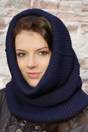 Модная шапка-труба