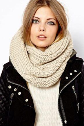 Разновидности шарфов