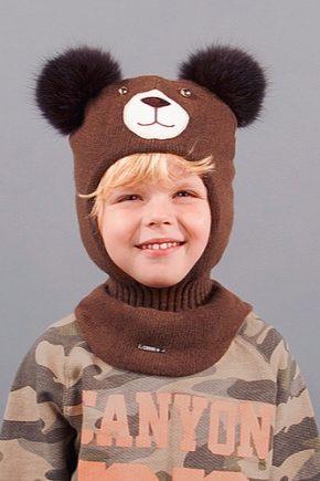 шапка шлем для мальчика 65 фото зимние вязаные детские шапки