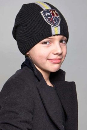 f0366866bbc Шапки для мальчиков (80 фото)  детские зимние шапки для мальчиков от ...