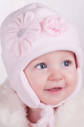 Зимние шапки для новорожденных