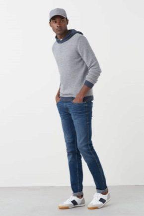 Кожаные мужские кроссовки от брендовых производителей
