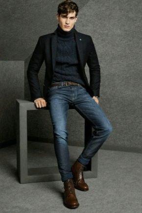 e5c85b94 Мужские ботинки (112 фото): обувь под джинсы для мужчин от ...
