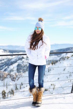 Женские зимние ботинки Коламбия утепленные Heavenly