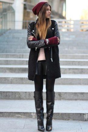 bea5c3ebda10 Зимние высокие женские сапоги (49 фото): длинные замшевые и кожаные ...