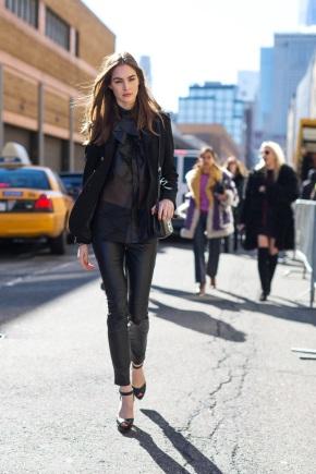 Чёрный цвет одежды