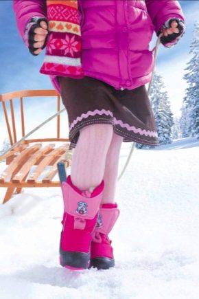 f072e840c Дутики детские (70 фото): зимние для мальчиков и девочек, сапоги ...