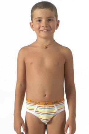 Нижнее белье для мальчиков