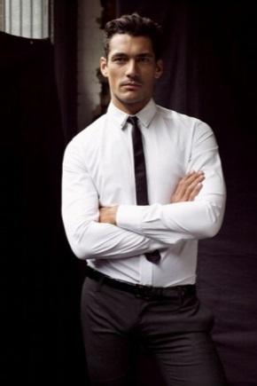 429С чем носят узкий галстук мужчине