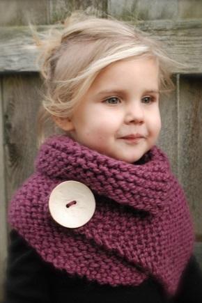 Как надевать шарф-трансформер?