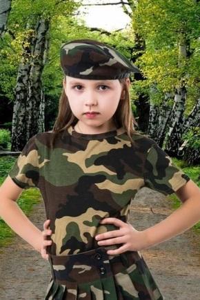 Камуфляжная одежда для детей