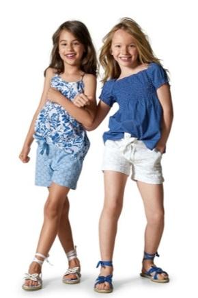 Летняя детская одежда