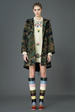 Женская камуфляжная одежда