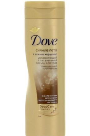 Автозагар Dove: отзывы о лосьоне для лица Сияние лета с мерцающим эффектом