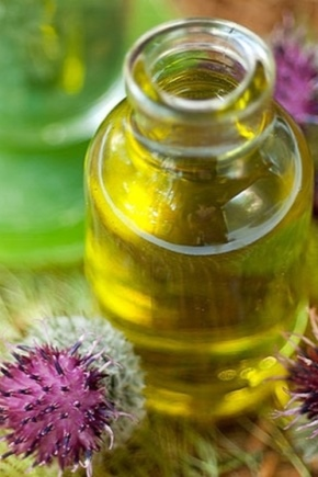 Репейное масло для лица от морщин