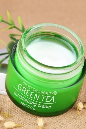 китайский отбеливающий крем зеленый чай отзывы