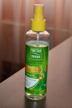 Спрей для волос бренда Чистая линия