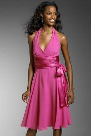 Атласный пояс для платья