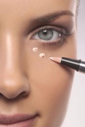 Чем скрыть темные круги под глазами макияж