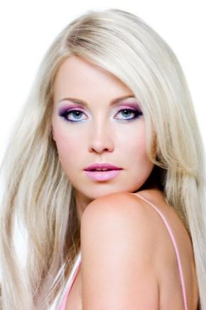 Цвет губной помады для блондинок