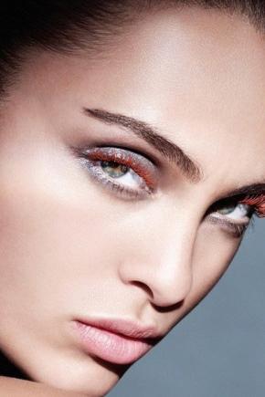 Красная тушь для ресниц ( N фото): как выбрать, макияж Armani и другие
