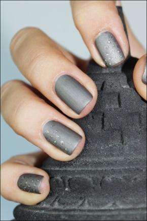 Маникюр с серым лаком (40 фото): идеи для дизайна ногтей гель-лаком темного и светло-серого цвета