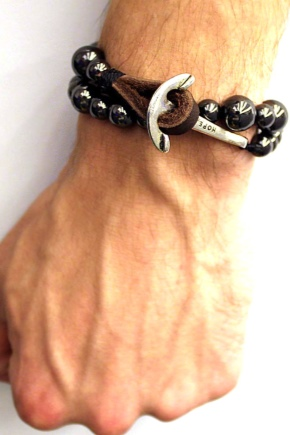 Мужские браслеты из камней