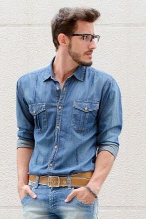 fcc60e431e3 Мужской ремень для джинсов (66 фото)  широкие кожаные брендовые ...
