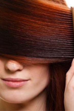 Рыжая хна для волос