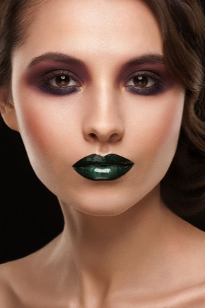 Зеленая губная помада