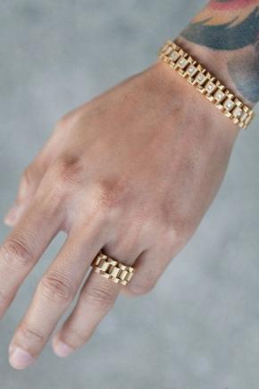золотые мужские браслеты 117 фото каучуковые украшения на руку