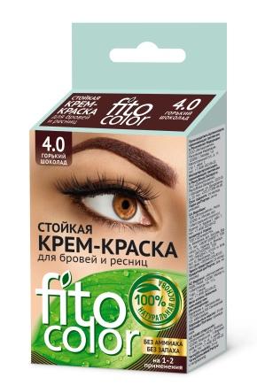 Крем-хна для бровей и ресниц FitoКосметик: как пользоваться краской, отзывы