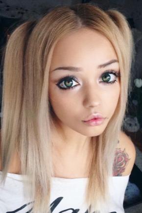Аниме глаза макияж поэтапно фото