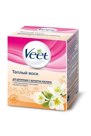 Теплый воск для депиляции Veet