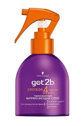 Выпрямляющий спрей-утюжок для волос Got2b