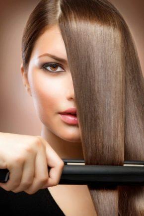 Турмалиновые утюжки для волос