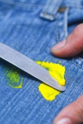 Как отстирать от одежды пластилин?