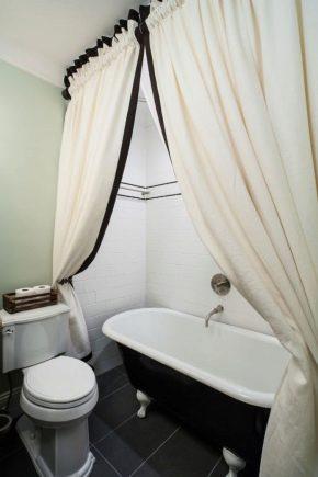 Правила стирки шторы в ванной комнате: избавляемся от желтизны