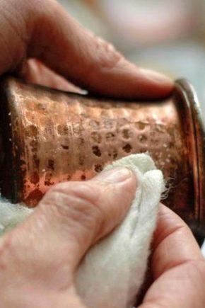 Как почистить латунь в домашних условиях? Как можно очистить до блеска снаружи латунный самовар и другие изделия, чем отчистить медь от окиси