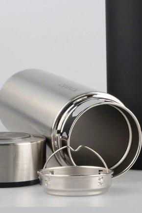 Как внутри почистить термос из нержавейки?