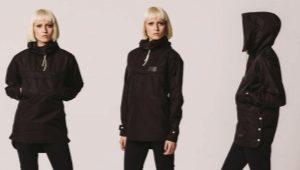 Анорак – ветрозащитная куртка, надеваемая через голову