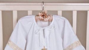 Крестильная рубашка для мальчика - какая она?