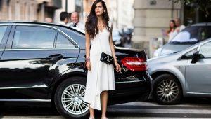Слипоны и платье – стильно, женственно и удобно