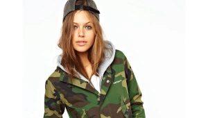 Камуфляжная куртка - стиль милитари снова в моде!