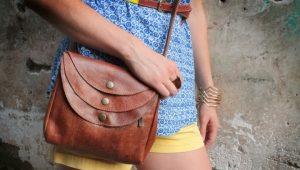 Маленькая женская сумка через плечо – хит сезона!