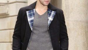 Мужская куртка из твида