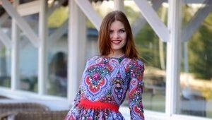 Платья в русском стиле – создайте яркий образ!