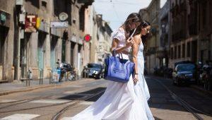 С чем носить длинные юбки летом?