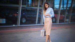 Юбка-карандаш – модные тенденции 2019