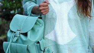 Женские кожаные сумки-рюкзаки сейчас в тренде!